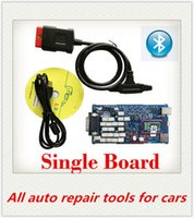 Cheap Wholesale-High Quality A+ Single pcb Board new vci With bluetooth 2016.r3 software for auto diagnostic tool TCS CDP PRO