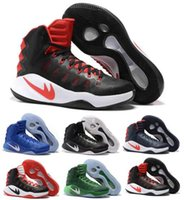 Wholesale Sneaker High Top China - Mens Basketball Shoes Hyperdunk 2016 Men Sneakers China High Top Summer Meshs Hyperdunk Green Basketball Shoe Sneaker Size7-12