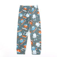 bice color - 2016 New children s clothing Elastic Waist cartoon pattern COAL BICE Trousers autumn Hot selling Cotton five sizes