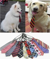 big dog supply - 30pc Big sale Large Dogs Ties Neckties For Big Pet Dog Grooming Supplies P21