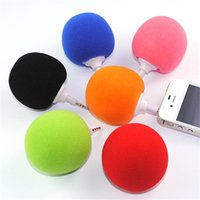 Wholesale Hot Selling Colorful Mini Computer Ball Speakers W Portable Music Speakers For MP3 Cell Phone mm Audio Player Computer Speakers ST20