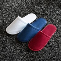 airline shoes - Disposable Slippers Household Hotel Beauty Salon Airlines Casual Shoes Outdoor Travel Soft Slippers TM0174