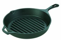 Wholesale L8GP3 Pre Seasoned Cast Iron quot Round Grill Pan