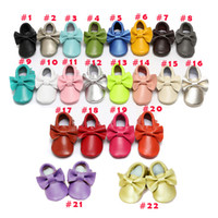 Wholesale Baby Infant Toddler Animal Soft Sole Leather Shoes Cow Leather Baby First Walker Shoes