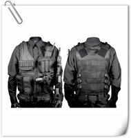 Wholesale Tactical Military VEST Fild Combat Pistol Vest Black Sand OD CP Camo Color Tactical vest