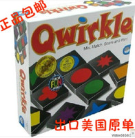 Wholesale Puzzle Maide dimensional Qwirkle Buttoned chess Chess game Table Games Children s chess