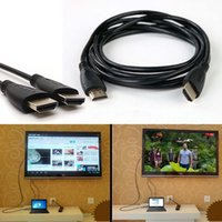 Wholesale 1x FT HDMI V1 AV Cord Cable HD D for BLURAY D DVD PS3 HDTV XBOX LCD micro hdmi cable long hdmi cable