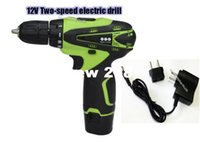 Wholesale 12V Electric Screwdriver Multi function Cordless Electric Drill Lithium Battery Rechargeable Parafusadeira Furadeira Power Tools