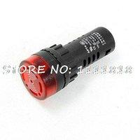alarm indicator light - AC220V mA mm Dia Cap Red LED Signal Indicator Light w Alarm Buzzer