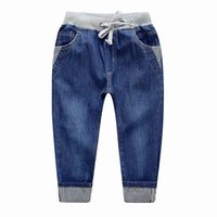 Wholesale 2016 autumn children jeans trousers There are three styles to choose from for year old boy quality guarantee