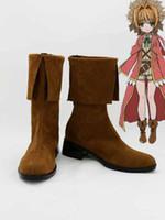 ai brown - Freeshipping Kami sama no Inai Nichiyoubi Ai Astin Brown Cosplay Boots Kamigami no Asobi Custom made for Halloween Christmas