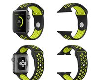 Wholesale 2016 new moneySports Replacement Bracelet Silicone Strap For Apple Watch Bands Series