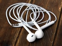 Wholesale Earphones For android edgeGalaxy Headphone High Quality In Ear Headset With Mic Volume Control For Iphone s