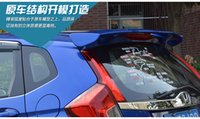 Wholesale fit for HONDA FIT ABS baking varnish stove varnish high quality Spoiler spoiler Wing rear wing different colors