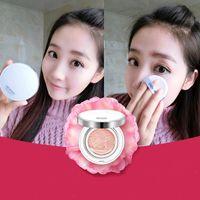 air cushion finish - Face BB CC Creams China Rose Beauty Air Cushion CC Cream Concealer Makeup Matte Finish White Moisturizing Makeup CC MG