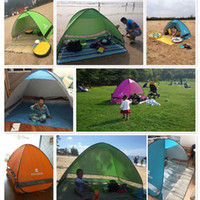 Wholesale Easy Carry Quick Automatic Opening Tents Outdoor Camping Shelters for People UV Protection Tent for Beach Travel Lawn Colorful