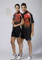 Wholesale new style badminton wear badminton shirt shorts Best quality