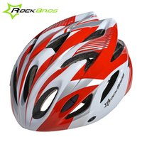 Wholesale icycle Accessories Bicycle Helmet ROCKBROS Cycling Outdoor Sports Mountain Road Bike Helmet Bicycle Helmet Ultralight Integrally molded