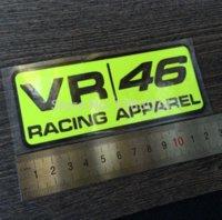 apparel vinyl - 12 cm valentino rossi sticker VR racing apparel vinyl decal motorbike rossi stickers stickers fish