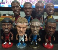 bear bryant - Mixed Order Basketball Mini Figures Kobe Bryant Lebron James Dwyane Kevin Durant Russell Westbrook Dolls Fans Collection