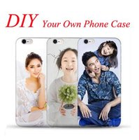 apple photo gifts - DIY Text or Photo Customized Your Smartphone Cases Gift for iPhone S s Plus Samsung S7 S6 Edge Unique Soft Covers