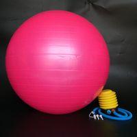 Wholesale cm quot cm Anti Explosion Exercise Gymnastic Fitness Pilates Balance Exercise Gym Fit Yoga Core Ball Fitness Training Yoga