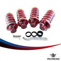 Wholesale RACING STORE RD RACING JDM ALUMINUM ADJUSTABLE COILOVER SPRING SHOCKS STRUT TOWER TOP HAT PQY TH12RD