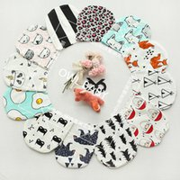 animal hat fox - 2016 Autumn Infant Baby Boys Girl Cartoon Animal Fox Caps Fashion INS Lovely Fox Tiger Panda Hats Soft Warm Caps Babies Cotton Hats