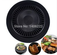barbeque gas grills - Smokeless Barbeque Grill for Household Gas Stove Indoor Black Stove Top Grill Brazilian Grill Pan