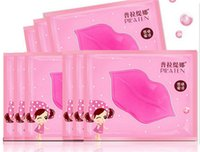 Wholesale PILATEN Authorized Collagen Crystal Lips Mask Moisturizing Anti Aging Anti Wrinkle Lip Care dilute the lip