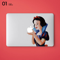 Wholesale 2016 Hottest Princess Snow White spiderman Sticker Skin protector for Apple MacBook Air quot Air Pro Mac quot quot quot Retina quot inch