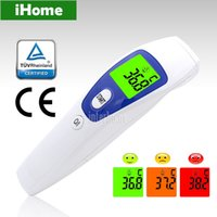 Wholesale Non contact Body and Object Digital Multifunction Infrared Thermometer Baby Adult Body Temperature Monitor Fever Beeper Warning