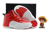 Unisex basketball gym flooring - New In Box Free Shiping Cheap Children Athletic Retro Boys And Girls Girls Gym Red XII Sneakers Kids Basketball Shoes
