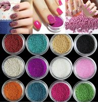 beads nail fashion - Fashion Women Nail DIY g pack Acrylic Mini Pearl Tiny Beads For Tip Nail Art Design