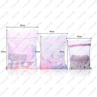 Wholesale 3 Sizes Zippered Mesh Laundry Wash Bags Foldable Delicates Lingerie Bra Socks Underwear Washing Machine Clothes Protection