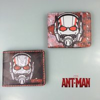 ant photos - Marvel Comics Man Wallets Ant Man Cartoon Animation Short Wallet for Students Card Holder Purse Leather Bags
