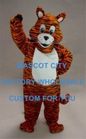 baby tiger costume - Tiger Cub Mascot Costume Adult Size Animal Baby Tiger THEME mascotte Mascota Outfit Suit Fancy Dress Cosply Costumes SW1089