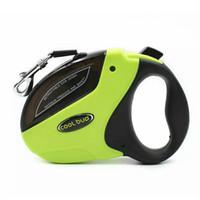 automatic dog leash - Small Medium Pet Dog Automatic Retractable dog leash lead Collar Harness kg kg kg six color Nylon M M