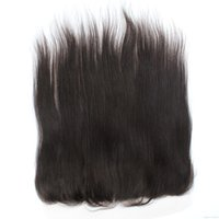 Wholesale Silky Straight Ear to Ear Lace Frontal with Baby Hair Natural Hairline Brazilian Straight Lace Frontal in Stock with Lace Cap