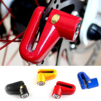 Wholesale Motorcycle Cycling Brake Disc Wheel Lock Mini Scooter Security Anti theft Lock MN0013 smileseller