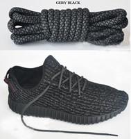 Wholesale boost Shoelaces kanye west shoes Shoe Laces V2 Runner Shoe Laces turtle dove pirate black colors Cm