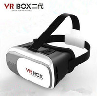 Wholesale ABS PC iPhone Android virtual reality goggles box of D glasses headphones helmet movie resources control handle VR glasses