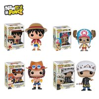 ace toys - 2016 Funko POP Luffy Chooper Grafalgar Law Portgas D Ace One Piece Vinyl Figure Collectible Model Toy