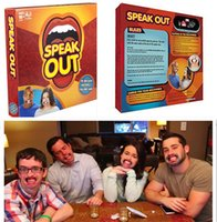 Wholesale Outdoor Game Speak Out Games Ridiculous Mouthpiece Challenge Game game for your mouthpiece with paper cards