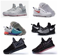 Cheap Wholesale Basketball Shoes KD Durant IX 9 Mic Drop Oreo Olympics Sport Sneaker Best Price Mens Athletics Discount Sneakers KD 9 Running
