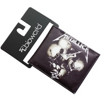ac people - METALLICA Wallet Classic Rock and Roll Orchestra People Purse Men Wallets Baellerry Guns and Roses AC DC Wallets Mimco Pouch