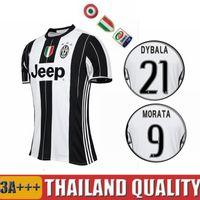 Wholesale black white shirt Home tracksuit soccer jersey top thai quality maglietta da calcio