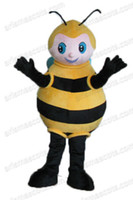 bee fancy dress costumes - AM8397 Bee Mascot costume for kids party custom animal mascot outfit party costumes adult fancy dress