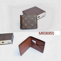 Wholesale 2016 fashion men louis wallet monogram checked brown black MICHAEL KOR WALLET M608950 N617200 N626630 N609300 N616650