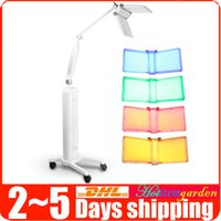 Wholesale Floor Standing LED Colors Skin Care Wrinkle Acne Removal Photon Skin Rejuvenation Lamp Beauty Machine